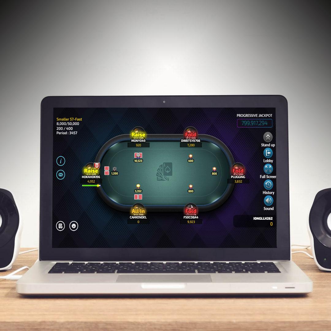 Bermain Poker Online Menggunakan Laptop
