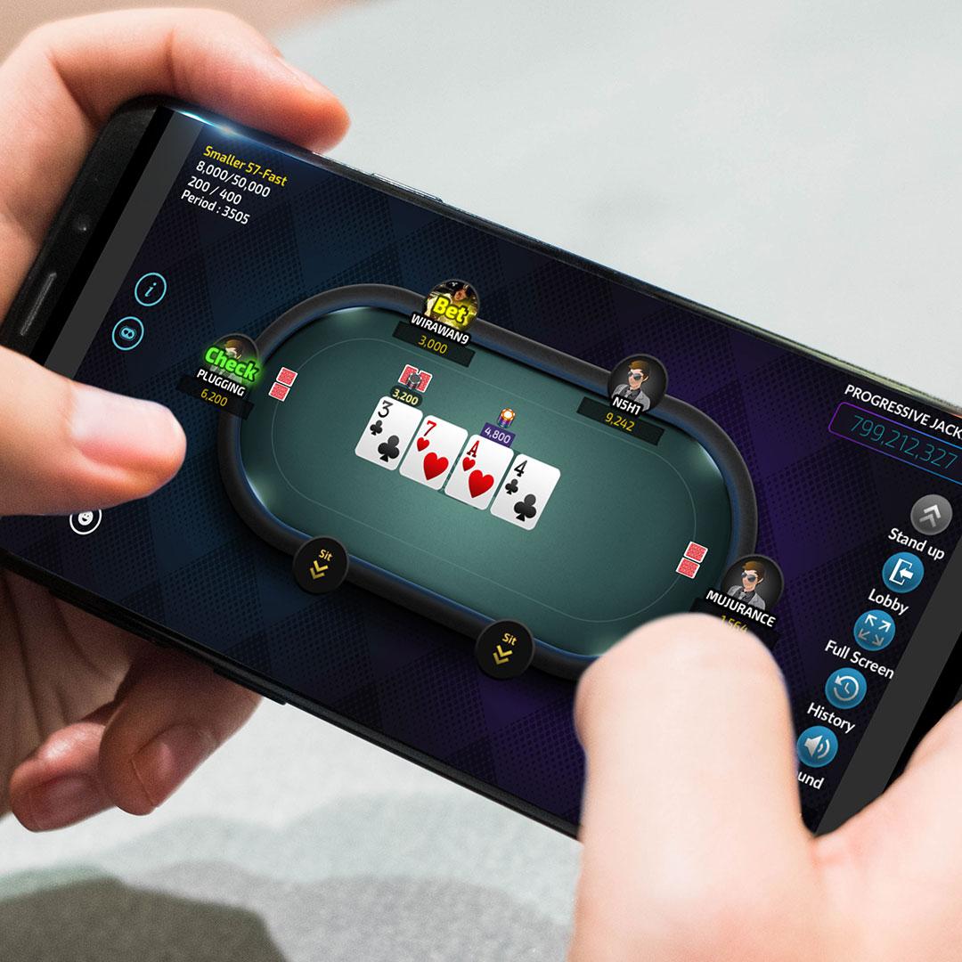 Bermain Poker Online Menggunakan HP Samsung