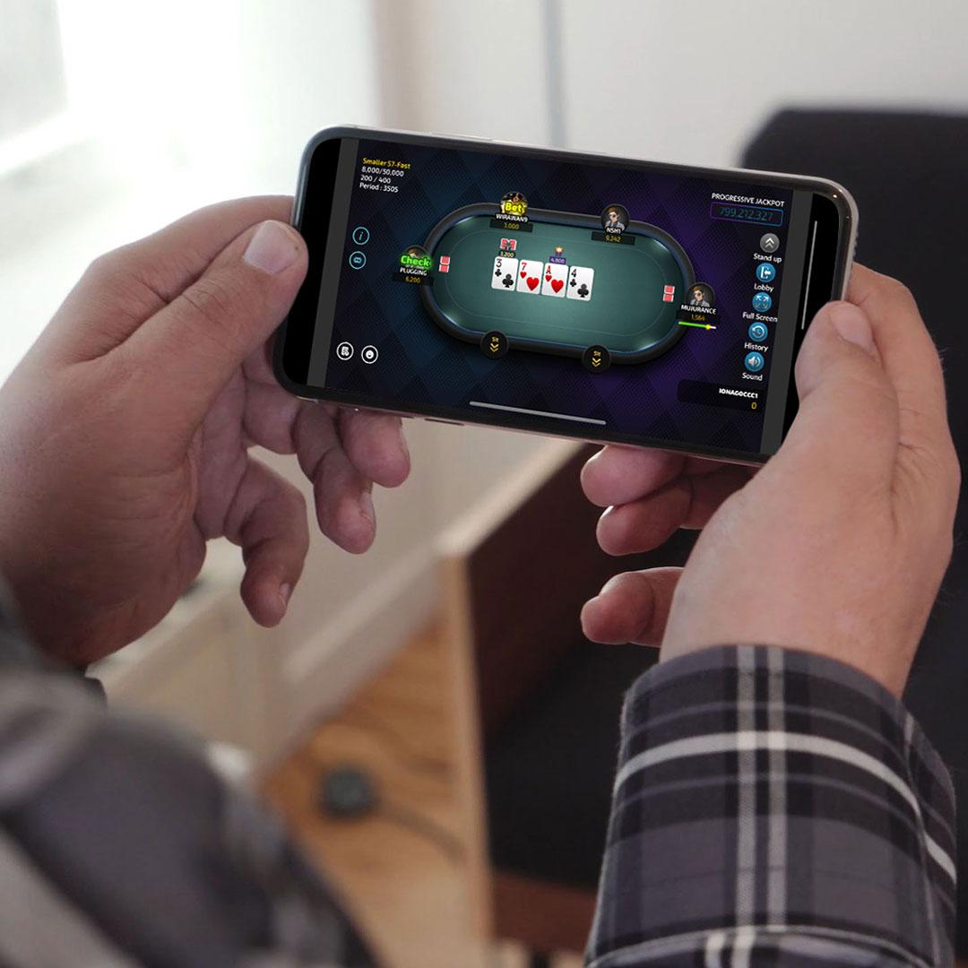 Bermain Poker Online Menggunakan iPhone