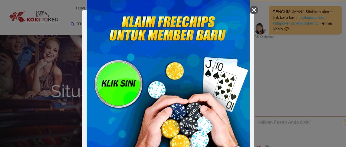 Freechips Member Baru